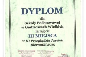 III Przegląd Jasełek Biernatki 2015