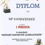 SP Godziesze 1 miejsce druzynowo dziewczeta
